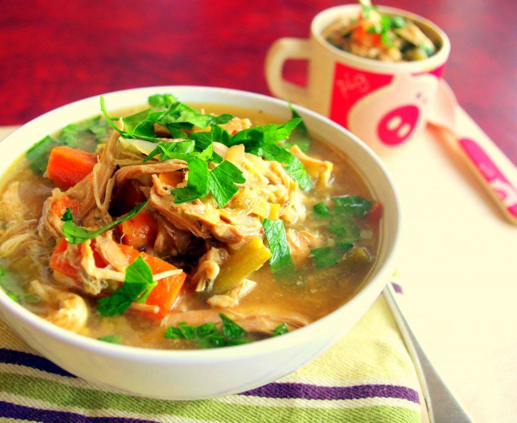 bone broth recipes chicken soup