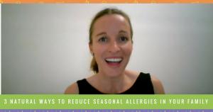 natural ways to reduce seasonal allergies