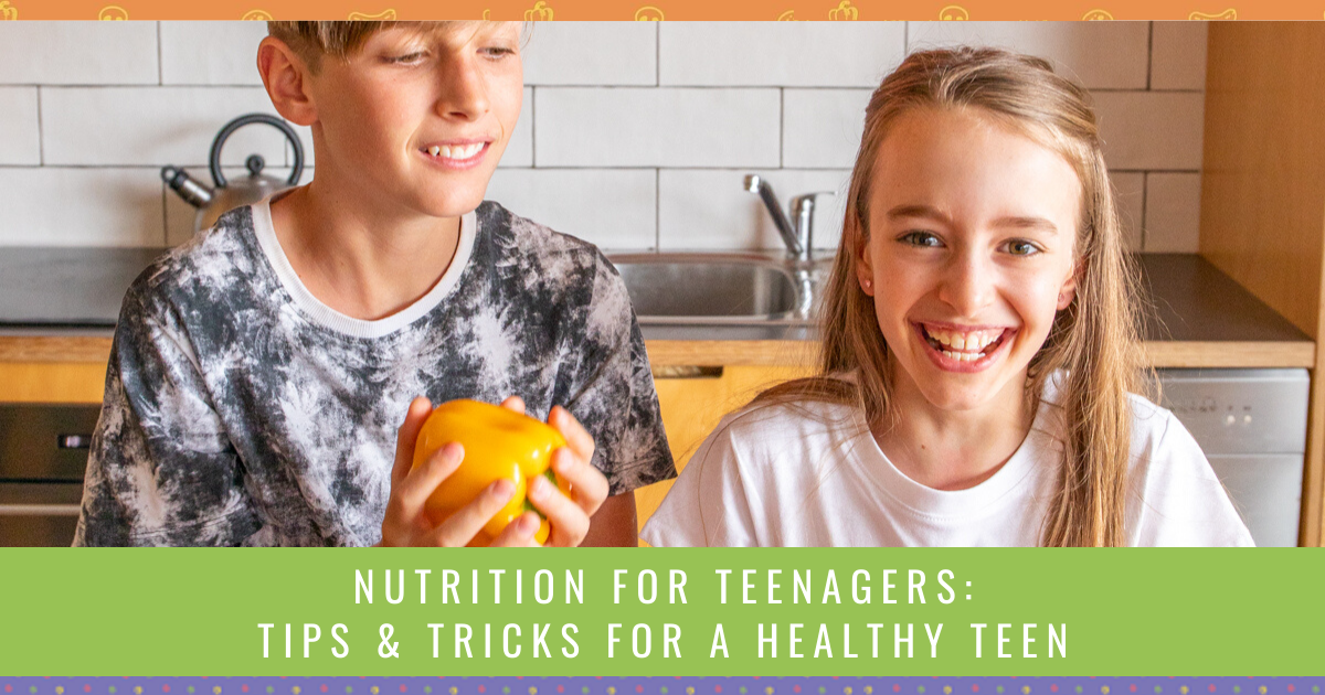 Nutrition For Teenagers Tips Tricks For A Healthy Teen